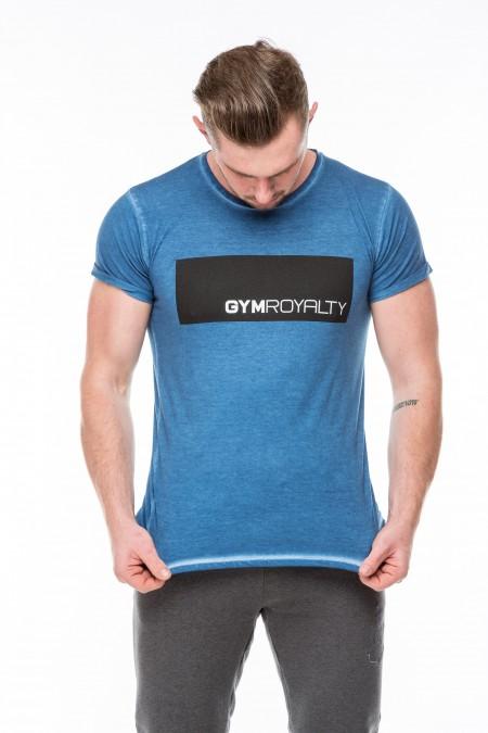 Hendrix T-Shirt - Blue Oil Dye