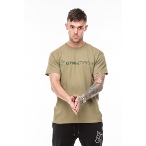 Conan T-Shirt - Khaki with Green Print