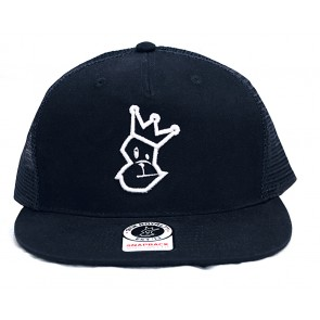 Signature Trucker Cap - Navy