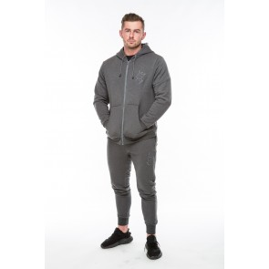 V2 Signature Hoodie & Tapered Bottoms  - Charcoal