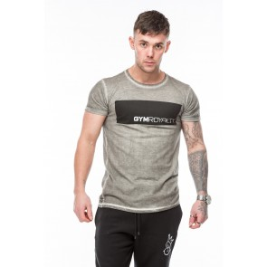 Hendrix T-Shirt - Grey Oil Dye
