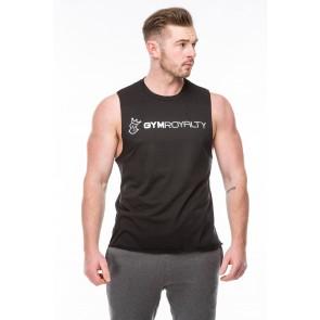 Cortex Vest - Black with White Print
